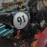 Honda NX 650 Dominator Umbau Startnummer