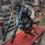 Honda NX 650 Dominator Umbau