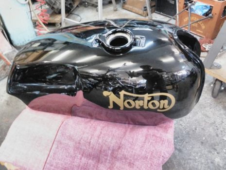 Norton Roadstar Tank