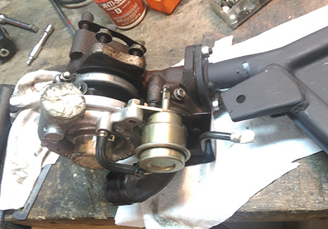 Turbolader Yamaha XJ 650